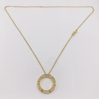 Collar Cartier LOVE en oro amarillo 18kt