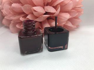 Calvin Klein Mini Splendid Burgundy Nail Polish