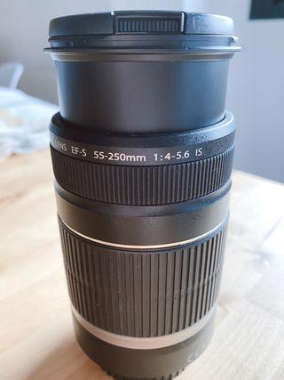 Objetivo Canon 55-250 mm 1:4-5.6 IS