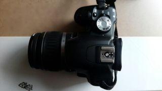 canon 500d +grip+objetivo
