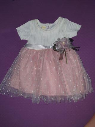 Vestido de bebé 3 a 6 meses