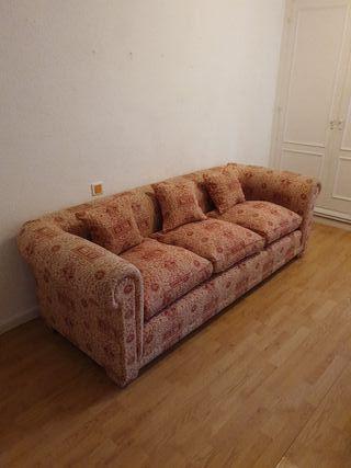 sofá chester 3 plazas
