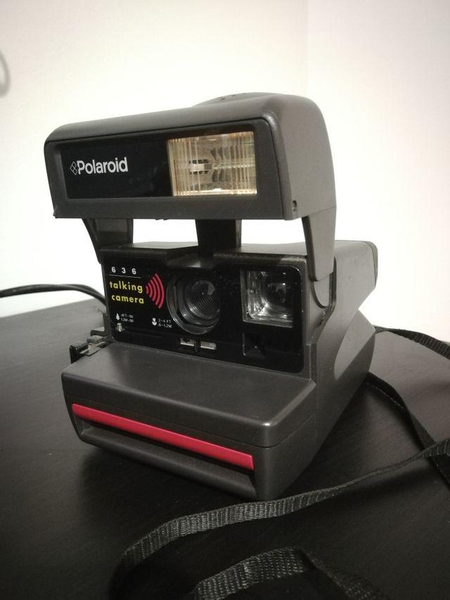 RARO!! POLAROID Talking camera