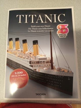Libro maqueta Titanic