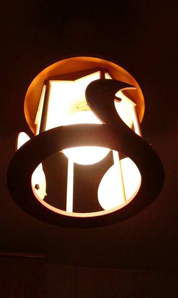 Lámpara infantil con bombilla