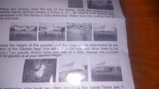 GAZEBO carpa plegable Flextents pro.