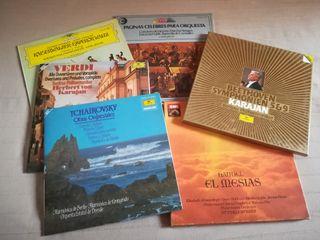 Lote discos música clásica