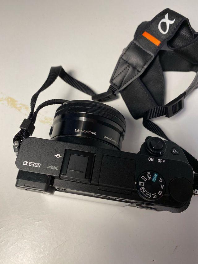 Camara Sony alpha/alfa 6300