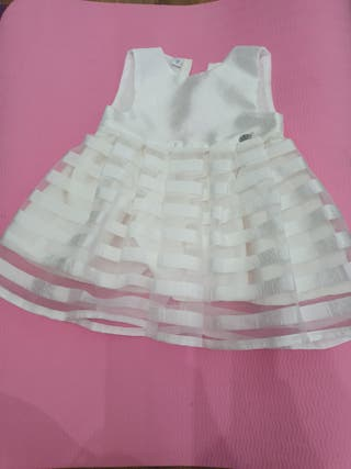 Vestido marca Ido 3-6 meses 62 cm