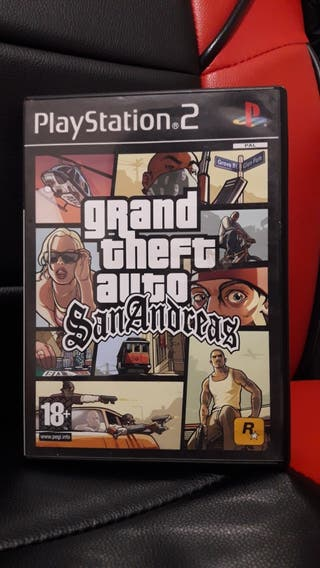 Grand Theft Auto San Andreas de PlayStation 2