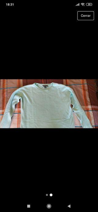jersey azul verdoso Talla S