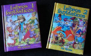 LIBROS FANTASTICOS - VOL 1 Y 2 - EDICIONES SALDAÑA