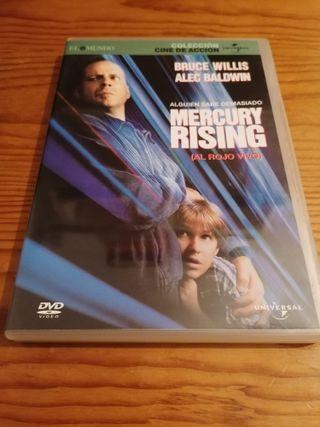 Película DVD: Mercury Rising - Bruce Willis