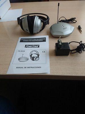 Auriculares inal.ambrico por RF