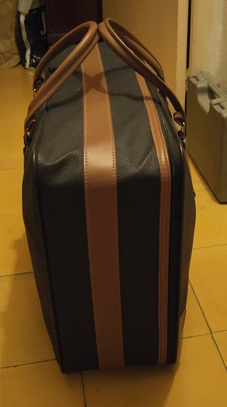 maleta de viaje años 80