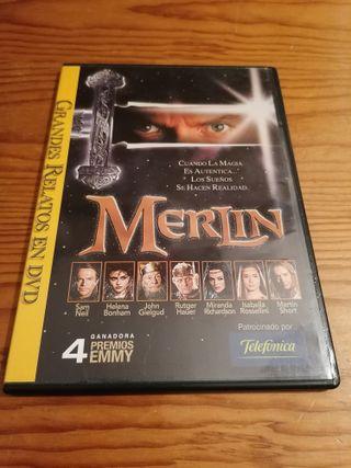 Película DVD: Merlin
