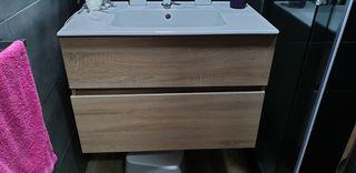Mueble para lavabo de 80 con defecto