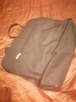 mochila para ordenador, papeles