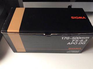 Sigma 170-500-F5-6.3 APO DG.Oportunidad !!!