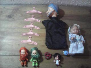 lote muñecas famosa