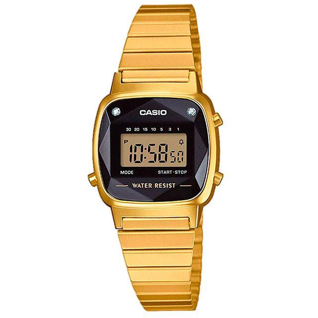 Ref. 02881   Reloj Casio LA670WEGD-1EF Crono Alar
