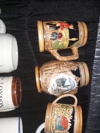 jarras originales antigüedades para cerveza