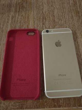 iPhone 6 Gold 64gb (batería nueva)