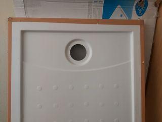 Plato de ducha rectangular Corfú