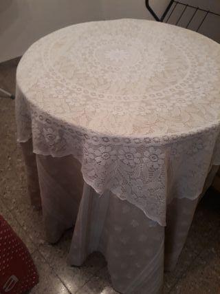 mesa camilla completa nueva de 90cm