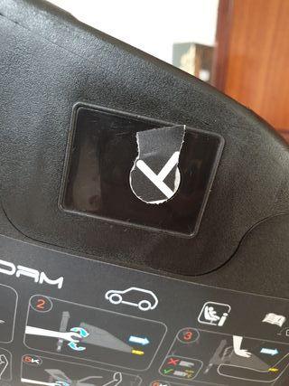 base iplatform isofix Jané para silla auto