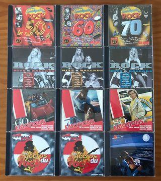 CDS RECOPILATORIOS DE ROCK INTERNACIONAL