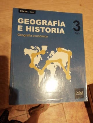 libro de geografía económica 3 ESO