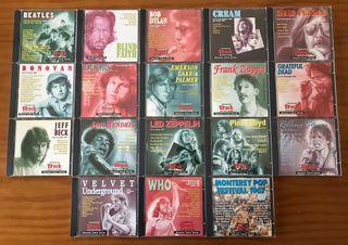 CDS DE ROCK INTERNACIONAL DE LOS 60 Y 70