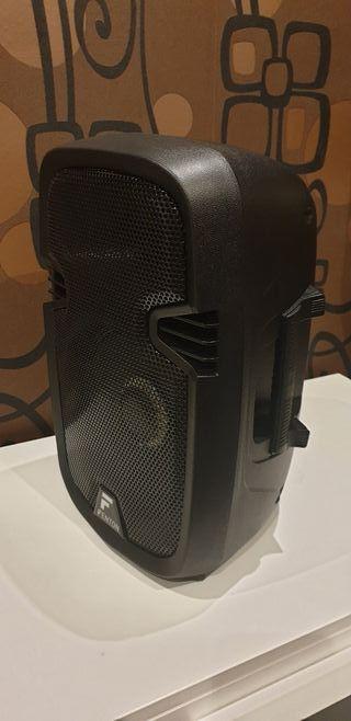 Altavoz autoamplificado portát 300w con micrófono