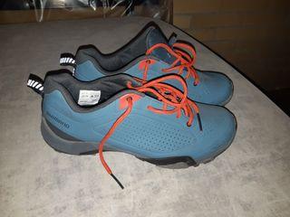 Zapatillas ciclismo mtb N° 40