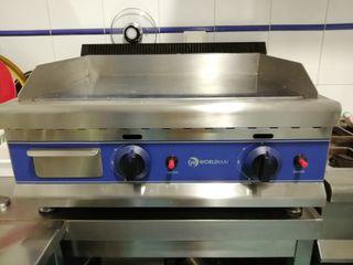 plancha de cocina industrial
