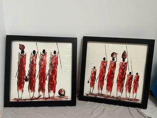 Cuadros Masai