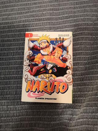 Manga Naruto primer tomo