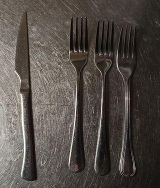 Cuchillos y Teneedores