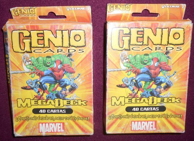 Cartas Genio, Marvel.