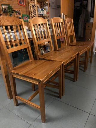 4 sillas de comedor IKEA