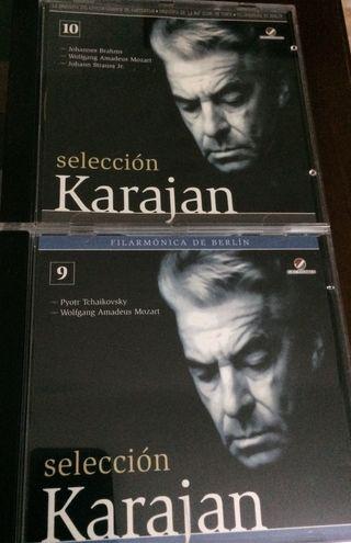 Selección Karajan. Los 2 CD 2€