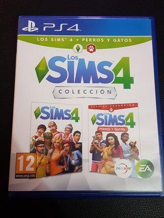 juego ps4 los sims4 coleccion
