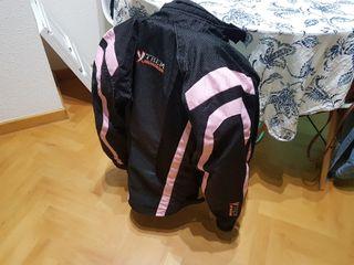 chaqueta cazadora moto chica mujer talla M