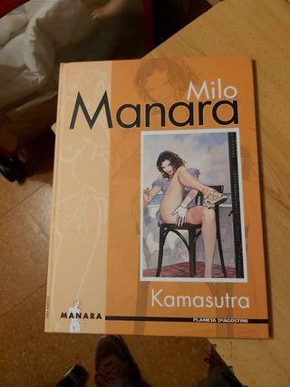 Libros MILO MANARA 4 TOMOS