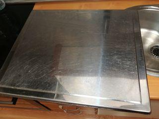 horno+vitrocerámica+tapa de aluminio