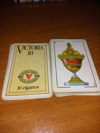 cartas fournier cigarros Victoria 10