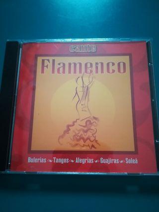 C.D. de flamenco