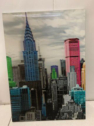 Cuadro 3D new york