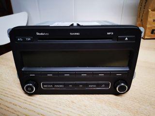 Radio MP3 Skoda swing